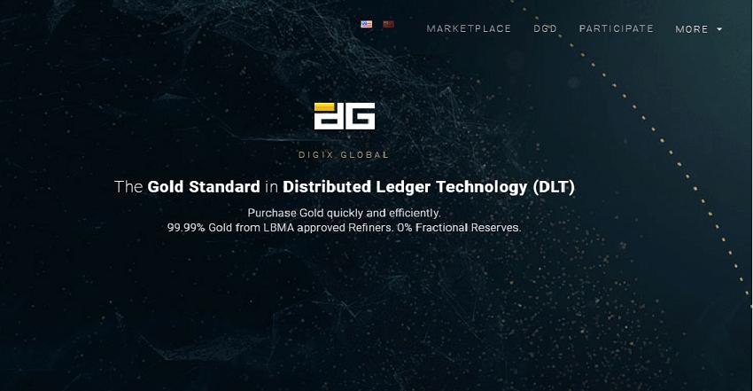 Após mais de dois anos de desenvolvimento, os primeiros tokens DGX apoiados pelo ouro e desenvolvidos pelo projeto Digix foram lançados na plataforma Ethereum. Assim, a primeira ICO realizada na rede Ethereum concluiu oficialmente o ciclo desde o início do projeto até sua implementação real
