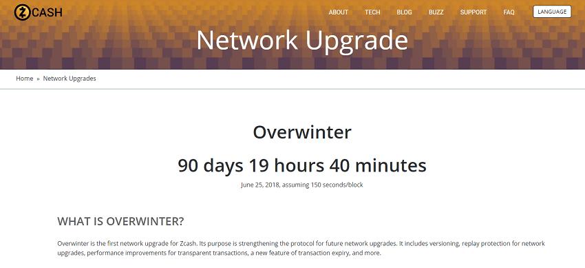O primeiro hardfork do Zcash promete ser o primeiro passo para mudanças drásticas. O novo projeto chamado Overwinter será lançado em junho, sendo que sua empresa-desenvolvedora espera começar o movimento para mudanças mais drásticas.