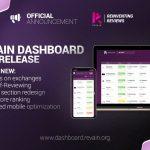 Revain anuncia próxima principal versão de seu Dashboard – 0.6 – enquanto sua plataforma alcança 1 mil avaliações
