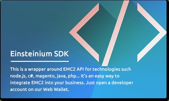 Com o domínio de criptomoedas se exapndindo rapidamente, novos importantes recursos para o público surgem diariamente. O Einsteinium é uma dessas plataformas, projetada para facilitar o desenvolvimento e a inovação dentro do domínio científico através da utilização da tecnologia de Blockchain.