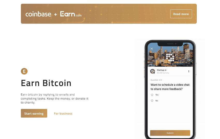 A principal empresa de criptomoedas, Coinbase, anunciou oficialmente a aquisição da startup de Bitcoin Earn.com, anteriormente conhecido como 21 Inc. O valor da transação não foi divulgado, contudo, fontes próximas à startup citaram uma quantia de mais de US$120 milhões.