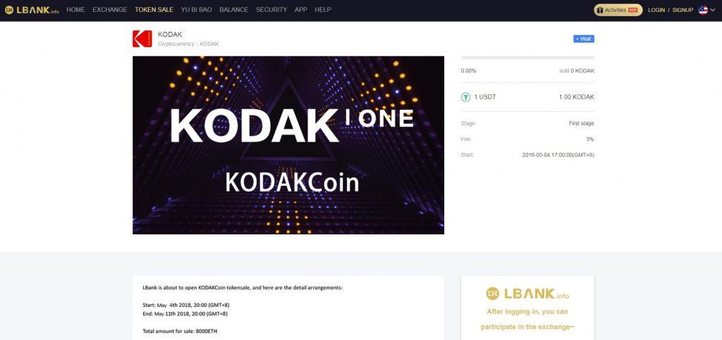 Criadores de KODAKCoin acusam LBank de fraude. BTCSoul.com