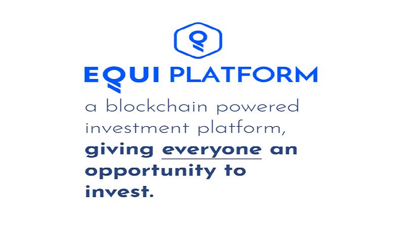 O EQUI Capital é um projeto criado com a finalidade de garantir uma maior proximidade e interatividade entre as criptomoedas e os mercados tradicionais de capital de risco, de tal forma que os dois conceitos sejam completamente reunidos.