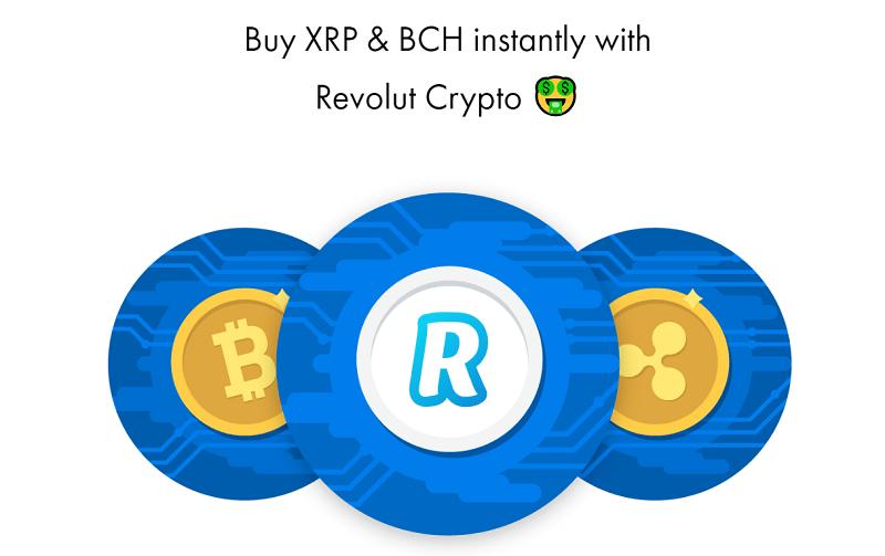 Fundada por nativos da Rússia, a startup britânica Revolut adicionou a seu aplicativo móvel suporte para as moedas digitais Ripple (XRP) e Bitcoin Cash (BCH).