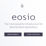 Lançado protocolo EOSIO V1.1.0