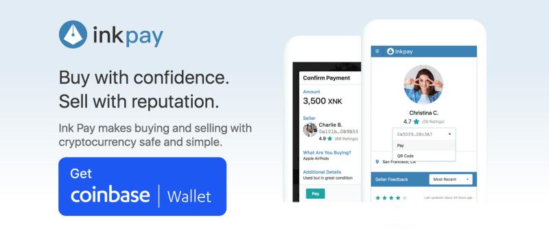 A Ink Protocol, plataforma descentralizada para pagamentos P2P, anunciou que agora a Coinbase Wallet inclui a possibilidade de realizar pagamentos através do aplicativo Ink Pay.