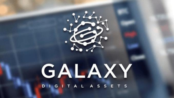 Durante a estreia da negociação na TSX Venture Exchange do Canadá, as ações do banco comercial Galaxy Digital LP caíram drasticamente.