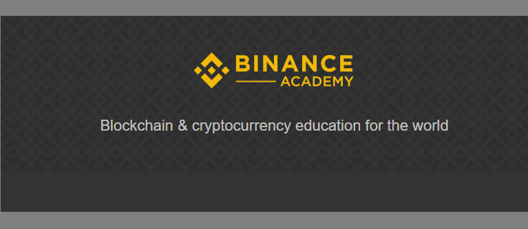 A Binance Exchange, uma das maiores corretoras em termos de volume de transações comerciais, anunciou o lançamento de uma plataforma educacional aberta, a Binance Academy, projetada para ajudar os usuários a expandir seus conhecimentos no campo de Blockchain e criptomoedas.