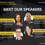 Membros do governo discutirão inovações no campo de vendas de tokens em Estocolmo