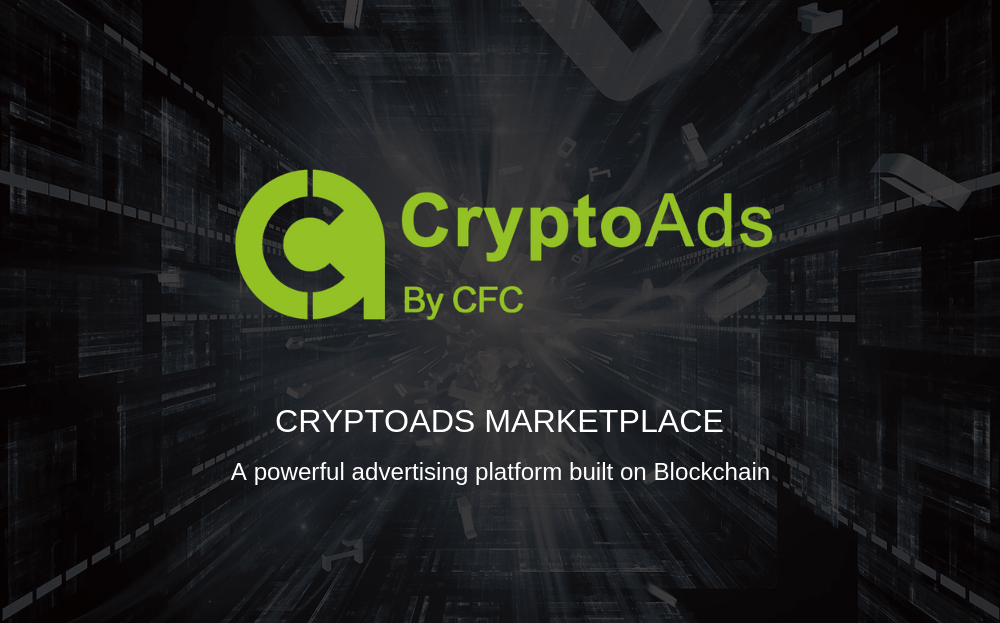 CryptoAds Marketplace completa sua ICO e está pronta para trazer a tecnologia de Blockchain para o ecossistema do marketing digital