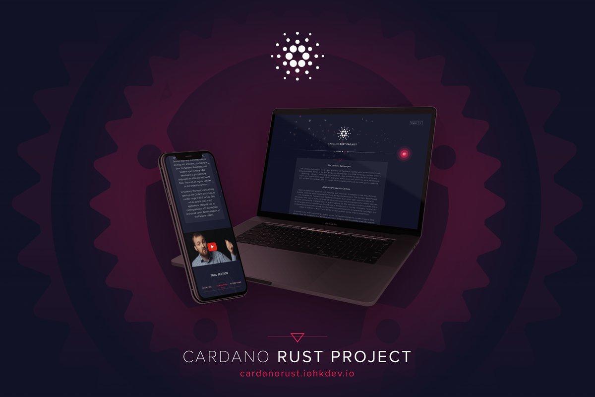 A IOHK, empresa de Blockchain de Hong Kong e que está por trás da criptomoeda Cardano (ADA), expandiu a lista de soluções tecnológicas ao oferecer o projeto de código aberto Cardano Rust a desenvolvedores terceirizados.