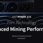 Bitmain anuncia início de vendas de Antminer S15 e T15
