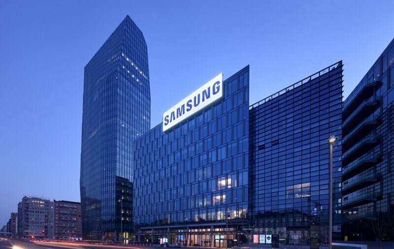 Samsung carteira criptomonetária