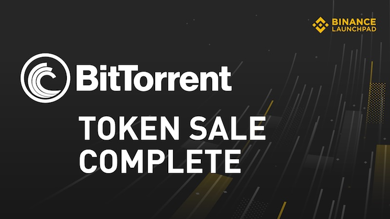 binance trx bnb btt bittorrent
