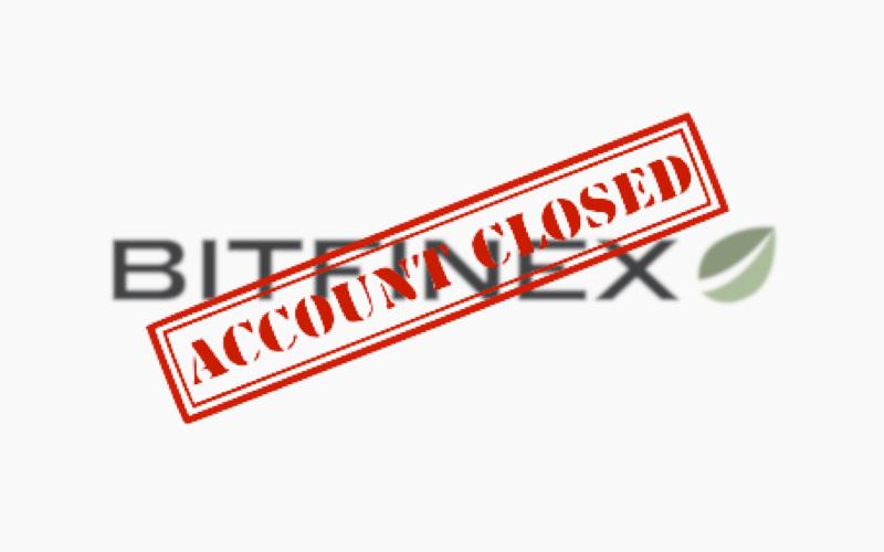 bitfinex conta fechamento