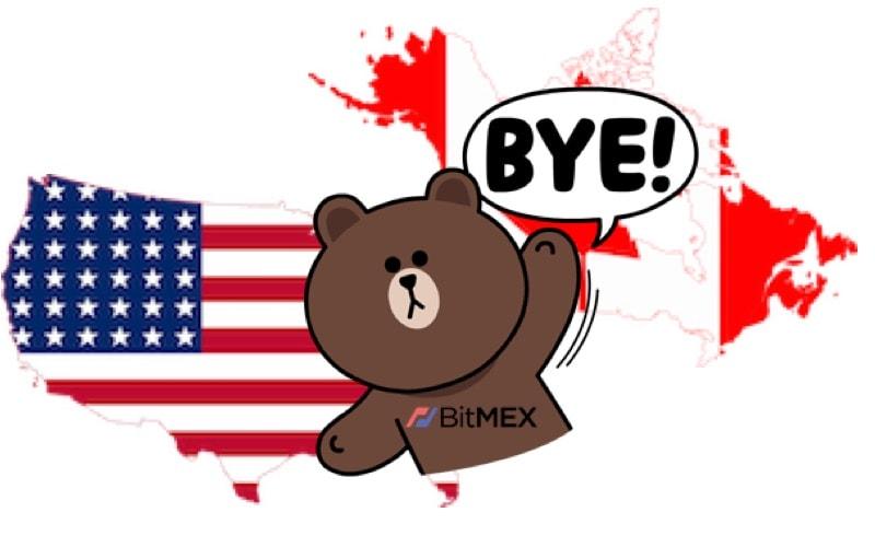 bitmex eua canada regulatória