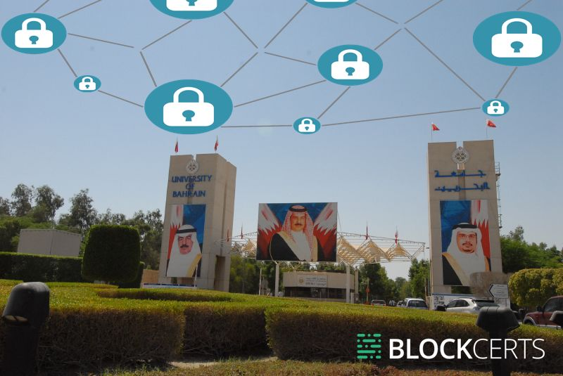 blockcerts blockchain universidade bahrein