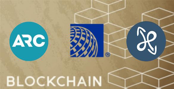blockchain linha aerea