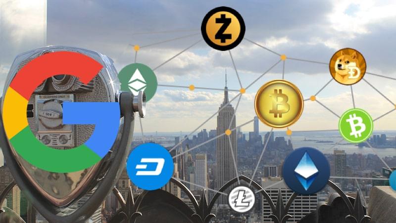 google bigdata blockchain criptomoedas